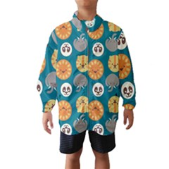 Animal Pattern Wind Breaker (Kids)