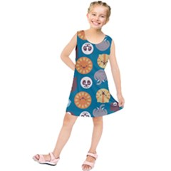 Animal Pattern Kids  Tunic Dress