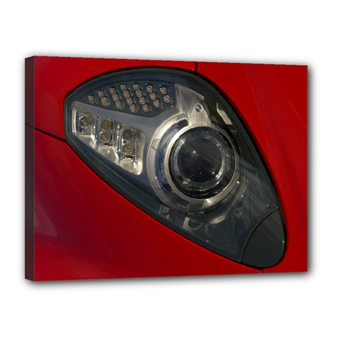Auto Red Fast Sport Canvas 16  x 12