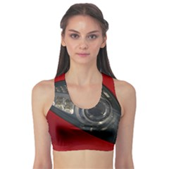 Auto Red Fast Sport Sports Bra