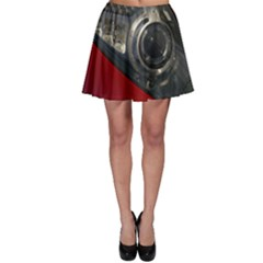 Auto Red Fast Sport Skater Skirt