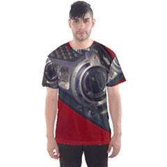 Auto Red Fast Sport Men s Sport Mesh Tee