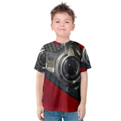 Auto Red Fast Sport Kids  Cotton Tee