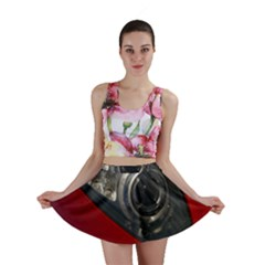 Auto Red Fast Sport Mini Skirt