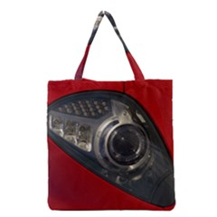 Auto Red Fast Sport Grocery Tote Bag