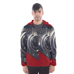 Auto Red Fast Sport Hooded Wind Breaker (Men)
