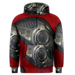 Auto Red Fast Sport Men s Zipper Hoodie