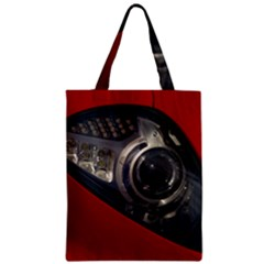 Auto Red Fast Sport Zipper Classic Tote Bag