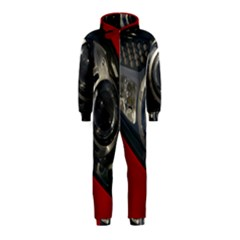 Auto Red Fast Sport Hooded Jumpsuit (Kids)