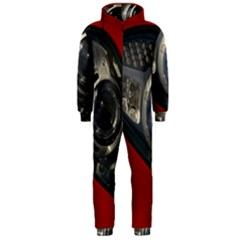 Auto Red Fast Sport Hooded Jumpsuit (Men)