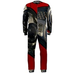 Auto Red Fast Sport OnePiece Jumpsuit (Men)