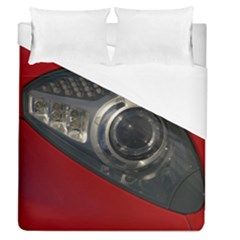 Auto Red Fast Sport Duvet Cover (Queen Size)