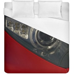 Auto Red Fast Sport Duvet Cover (King Size)