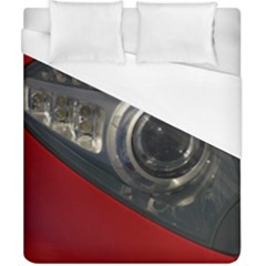Auto Red Fast Sport Duvet Cover (California King Size)