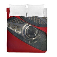 Auto Red Fast Sport Duvet Cover Double Side (Full/ Double Size)