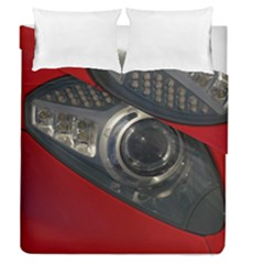 Auto Red Fast Sport Duvet Cover Double Side (Queen Size)