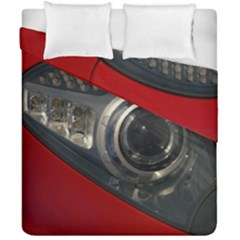 Auto Red Fast Sport Duvet Cover Double Side (California King Size)