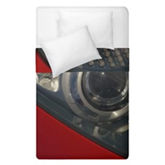 Auto Red Fast Sport Duvet Cover Double Side (Single Size)