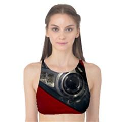 Auto Red Fast Sport Tank Bikini Top