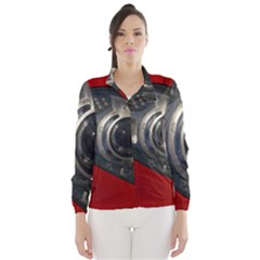 Auto Red Fast Sport Wind Breaker (Women)