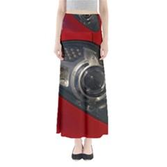 Auto Red Fast Sport Maxi Skirts