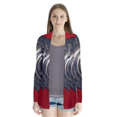 Auto Red Fast Sport Cardigans