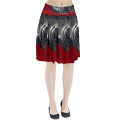 Auto Red Fast Sport Pleated Skirt
