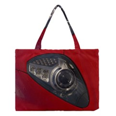 Auto Red Fast Sport Medium Tote Bag