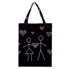 Couple in love Classic Tote Bag
