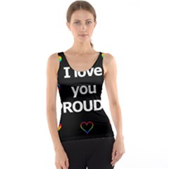 Proudly love Tank Top