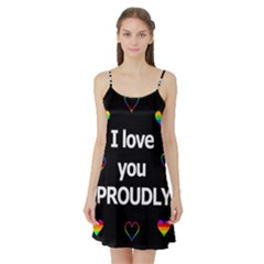 Proudly love Satin Night Slip