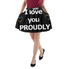 Proudly love A-Line Pocket Skirt