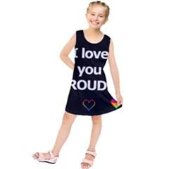Proudly love Kids  Tunic Dress