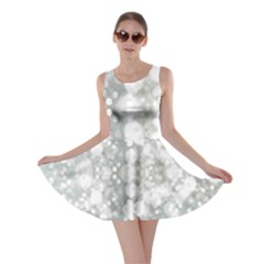 Light Circles, watercolor art painting Skater Dress