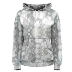 Light Circles, watercolor art painting Women s Pullover Hoodie