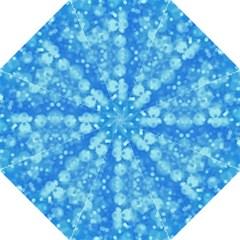 Light Circles, dark and light blue color Golf Umbrellas