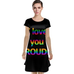 I love you proudly Cap Sleeve Nightdress