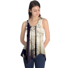 Forest Fog Hirsch Wild Boars Sleeveless Tunic