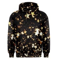 Golden stars in the sky Men s Pullover Hoodie