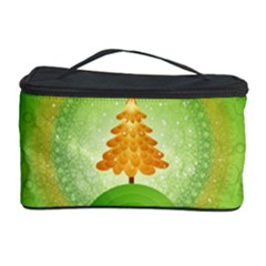 Beautiful Christmas Tree Design Cosmetic Storage Case