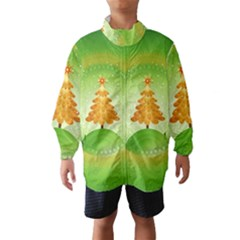 Beautiful Christmas Tree Design Wind Breaker (Kids)