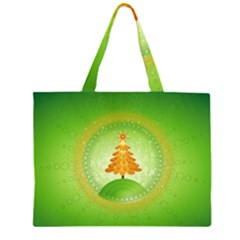 Beautiful Christmas Tree Design Large Tote Bag