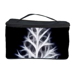 Christmas fir, black and white Cosmetic Storage Case