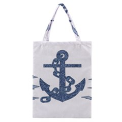 Anchor Pencil drawing art Classic Tote Bag