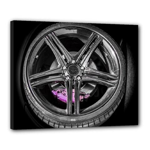 Bord Edge Wheel Tire Black Car Canvas 20  x 16