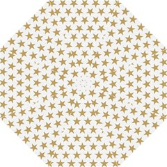 Golden stars pattern Folding Umbrellas
