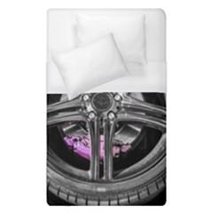 Bord Edge Wheel Tire Black Car Duvet Cover (Single Size)