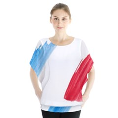 Tricolor banner france Blouse