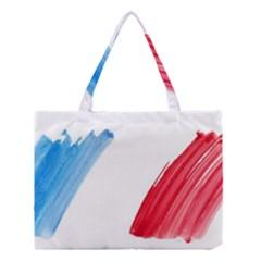 Tricolor banner france Medium Tote Bag
