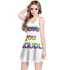 I love you proudly 2 Reversible Sleeveless Dress